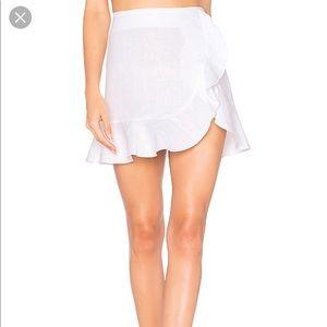 Karina Grimaldi brand new Bonita Linen Skirt